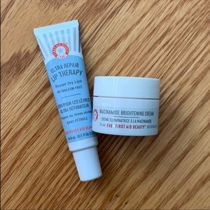 First Aid Beauty Eye Cream & Lip Therapy Full Size